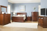 GREENBRIAR Sleigh Bed